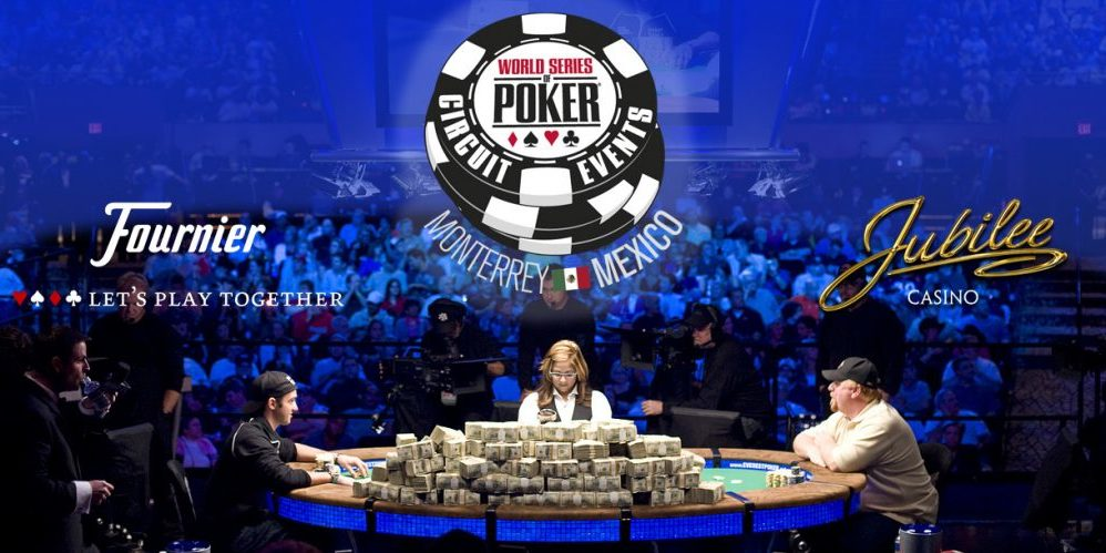 Fournier takes you to the first WSOP event at Monterrey, México ...